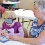 BELL Program Teaches Visually Impared Kids Braille, Blindness Skills
